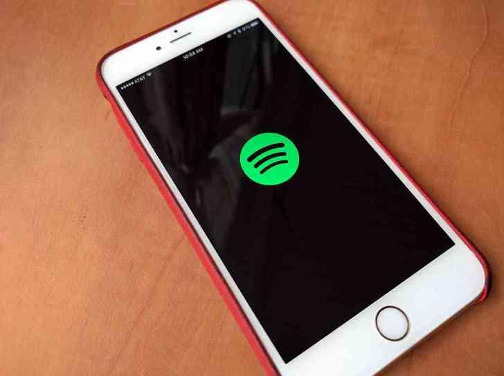 Spotify iPhone app