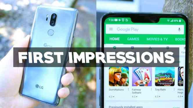 LG G7 ThinQ First Impressions - PhoneDog