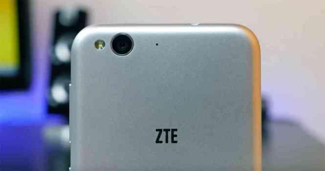 ZTE logo Blade 6 hands-on