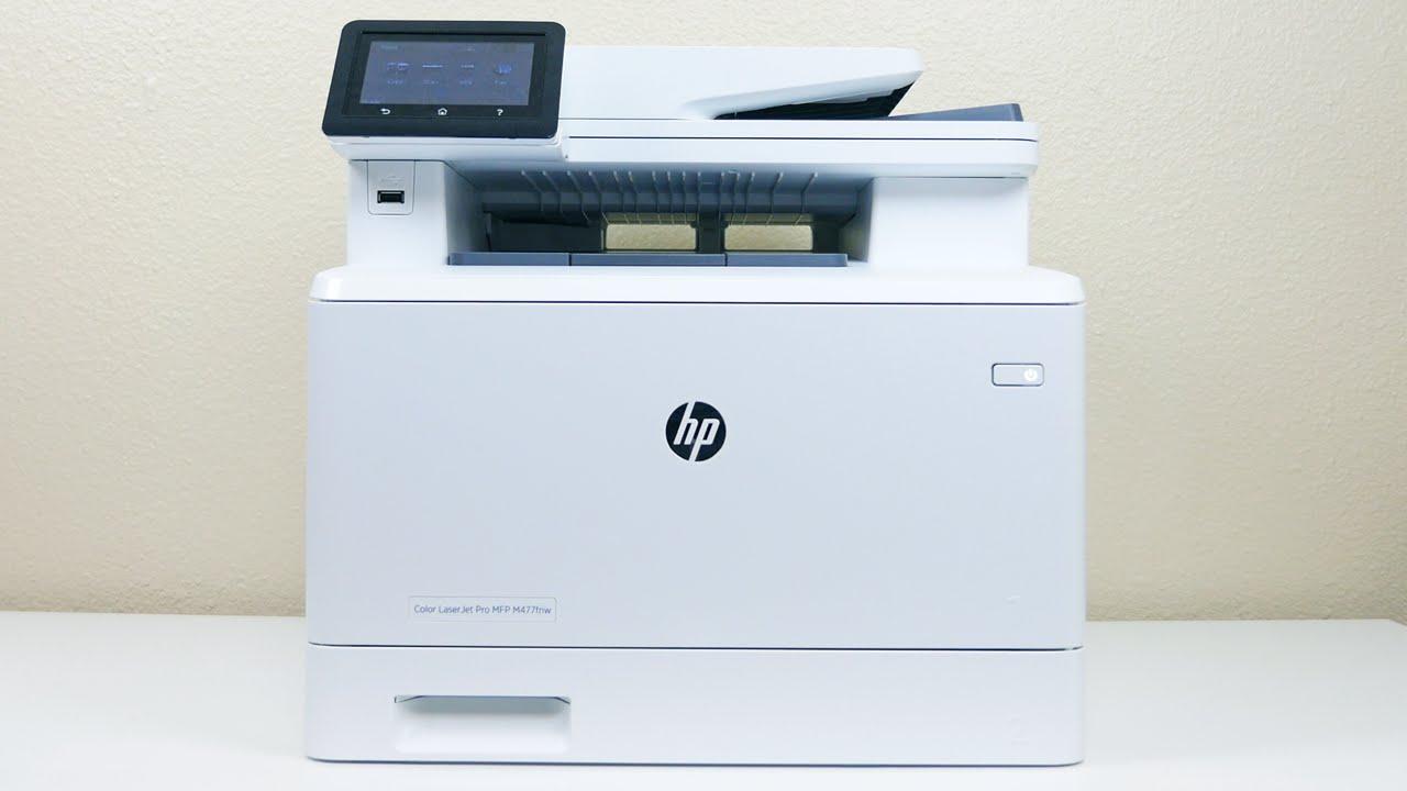 Hp Color Laserjet Pro M477 Printer Review Phonedog