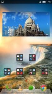 ZTE Nubia Z5S interface