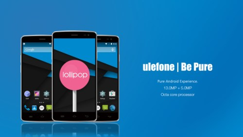 Ulefone Be Pure: Design and specifications revealed