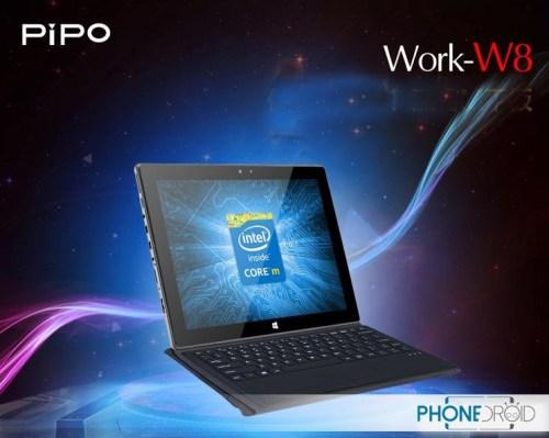 PiPO W8: Core M processor and 10.1 inch retina screen