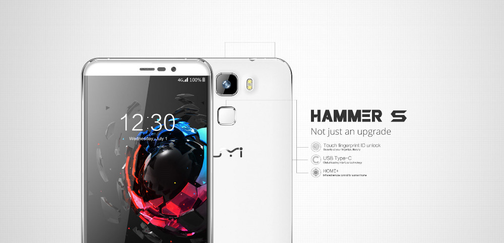 Umi Hammer S: Upgraded with Touch fingerprint ID and USB