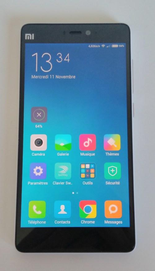 Test du Xiaomi Mi4c : successeur du Mi4 et Mi4i