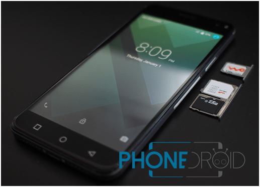 Bluboo Xfire 2, 2 SIM + 1 Micro SD