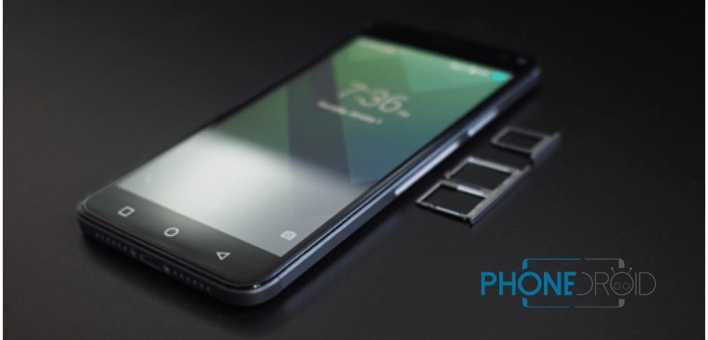Bluboo Xfire 2 : premier téléphone triple-SIM !