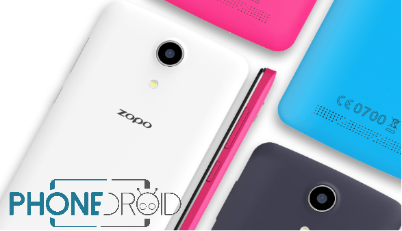 Zopo Color S5.5 : annonce officielle