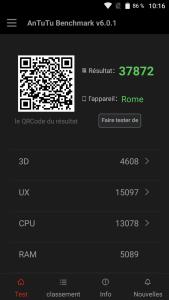 AnTuTu Benchmark Umi Rome