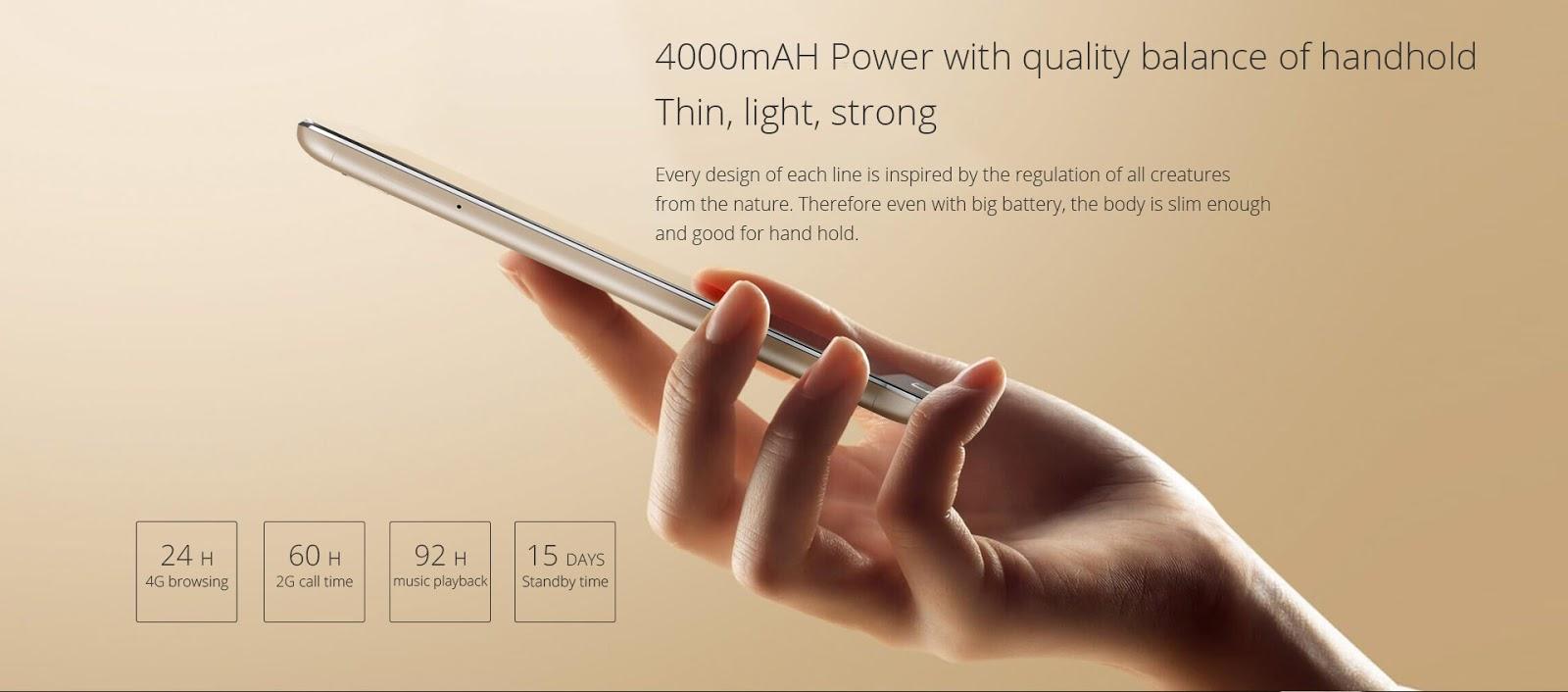 le point fort du UMI Touch X : l'autonomie