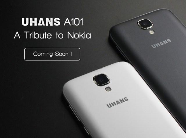 Uhans A101 : l'Ôde à Nokia