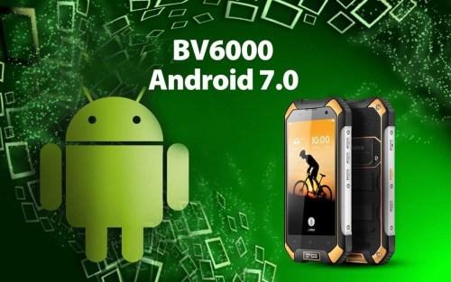 Le Blackview BV6000 reçoit Android 7.0 Nougat pour Noël !