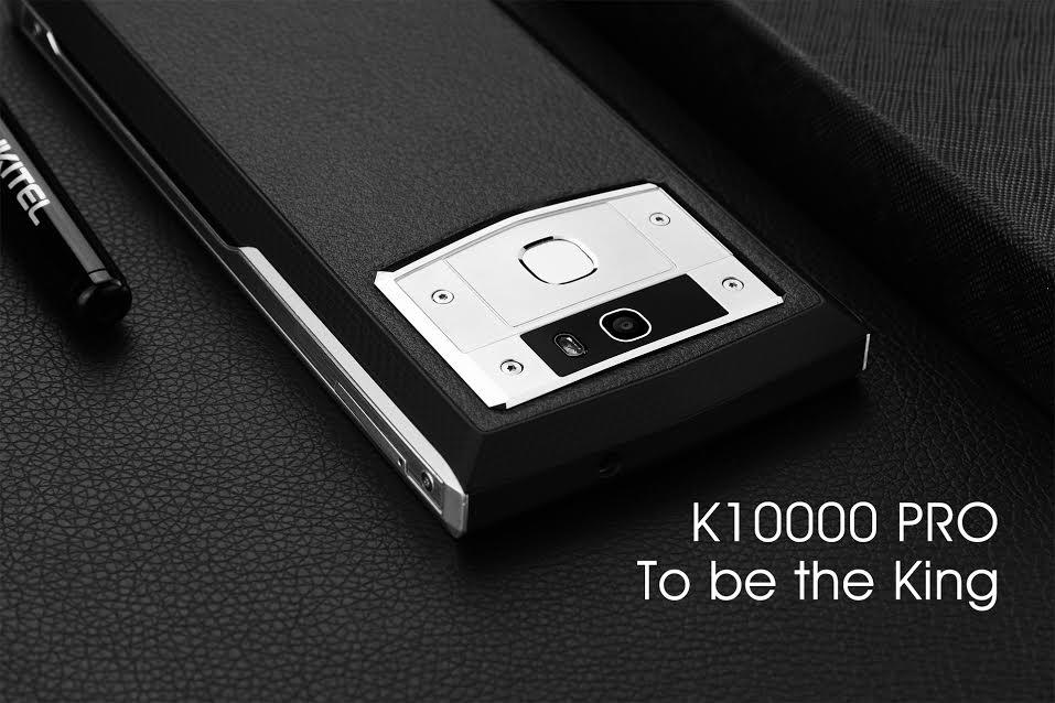 Oukitel K10000 Pro : batterie de 10000 mAh et Corning Gorilla Glass