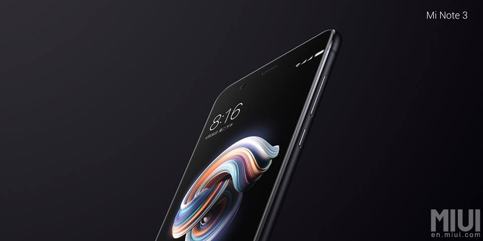 Test du Xiaomi Mi Note 3 : l'inclassable …
