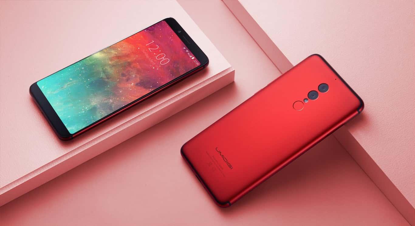 smartphones android chinois umidigi s2