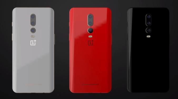 OnePlus 6T, photos réelles en fuite