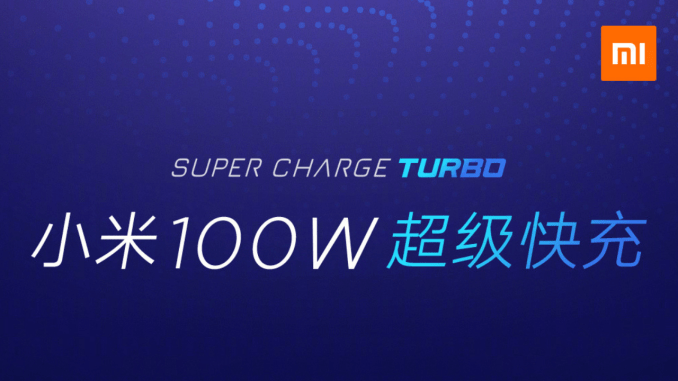 Xiaomi Super Charge Turbo 100W : Redmi inaugurera cette technologie