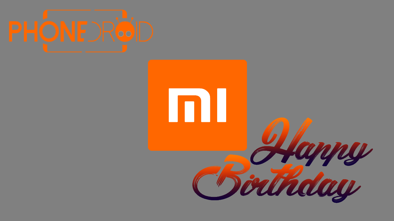 Happy Birthday Xiaomi !