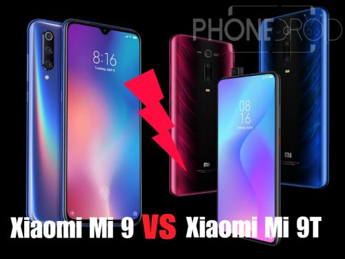 Xiaomi Mi 9 VS Xiaomi Mi 9T : la bataille dans la gamme Mi 9