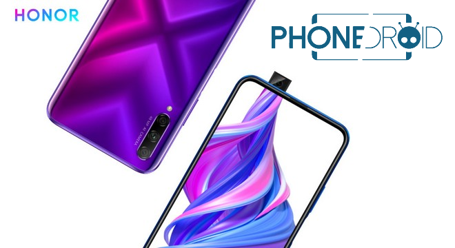 Honor 9X : nouveau processeur et design Full Bordeless
