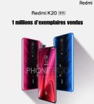 Gamme Redmi K20 : déjà 1 million de pièces vendues!