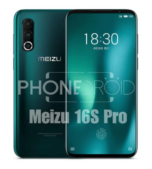 Meizu 16S Pro : objectifs photo et processeur plus performants!