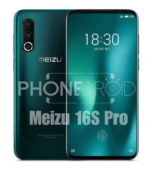 Meizu 16S Pro : objectifs photo et processeur plus performants!