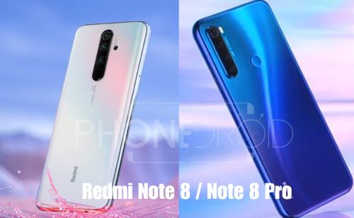 Redmi Note 8 / Note 8 Pro : les nouvelles stars!