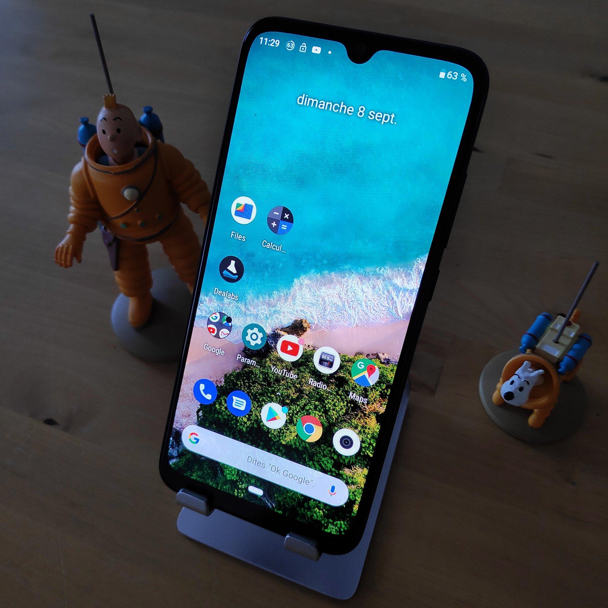 Face Xiaomi MI A3