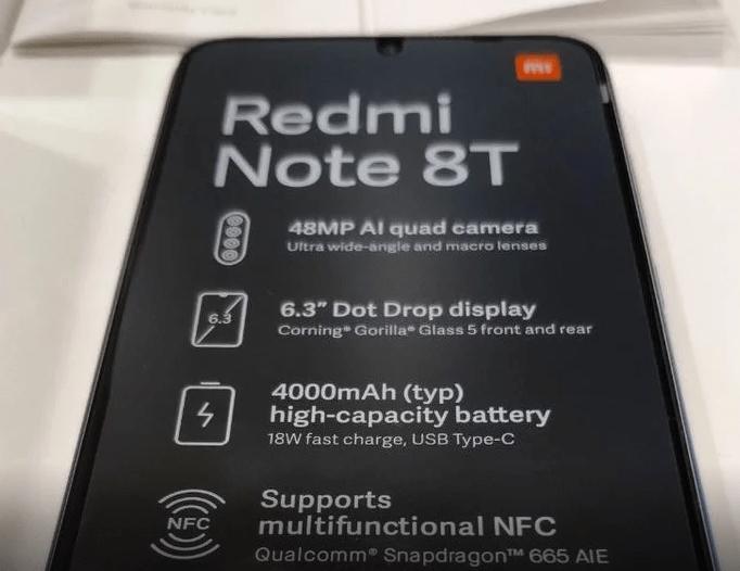 Redmi Note 8T : petite mise à jour…