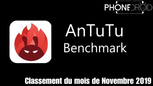Classement Antutu Benchmark Novembre 2019