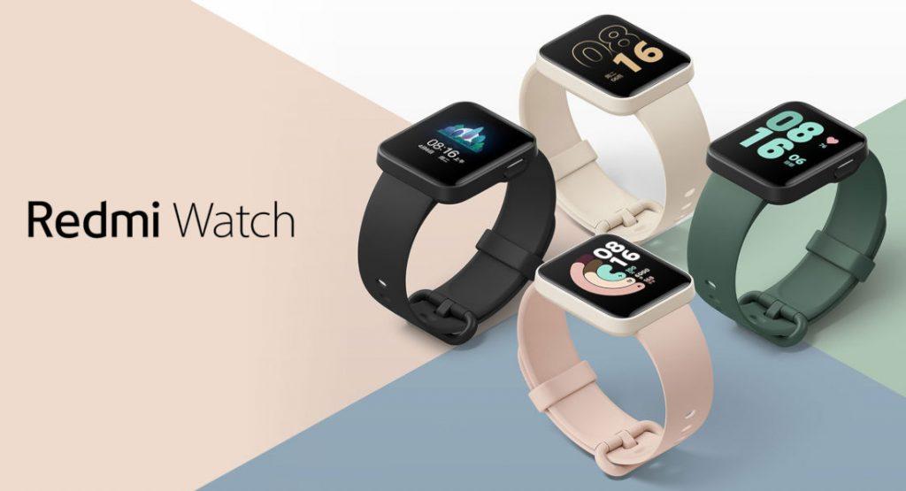 Lancement de la Redmi Watch, première smartwatch de la marque