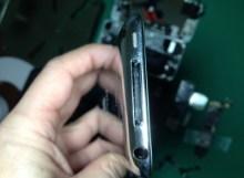 ipod touch 4 ドックコネクタ_修理前