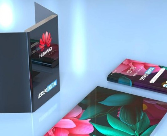 Huawei delayed the Mate X, but it just patented another foldable phone