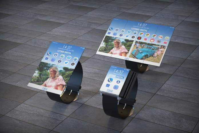Forget the Galaxy Fold, we want IBM's unbelievable folding smartwatch