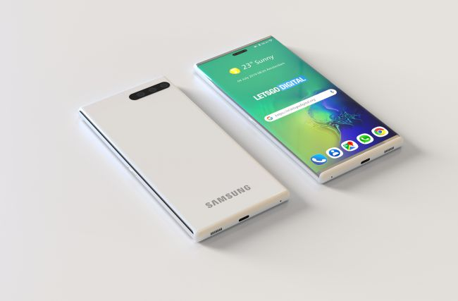 This Rollable Samsung Galaxy Makes a Lot More Sense Than the Fold