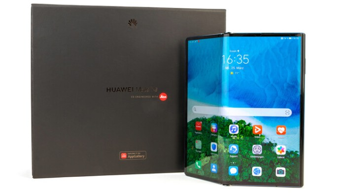 The Huawei Mate Xs