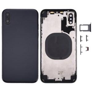 iPhone X Rear Housing Black