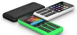 Nokia 215, Microsoft sort l'nternet phone à 30 dollars