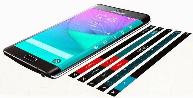 LG G FLex 2 eVs Note Edge