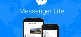 Facebook lance Messenger Lite dans 132 pays