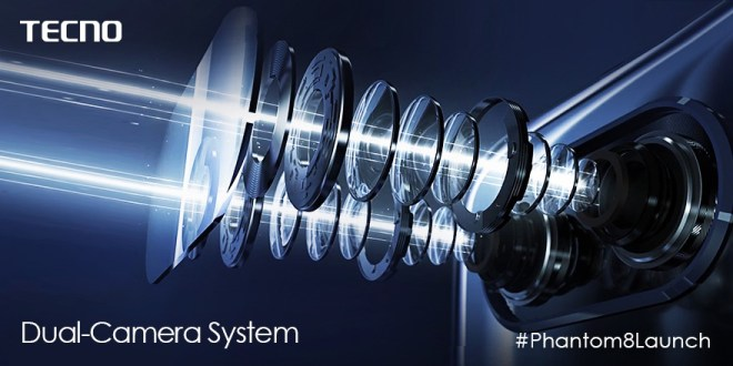 Phantom 8 : Des spécifications de haut vol, pour le haut de gamme de Tecno Mobile