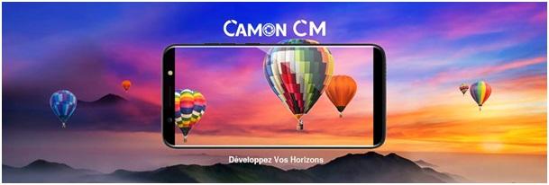 Mobile : Pourquoi « développer votre horizon » avec le CAMON CM ?