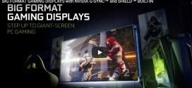 NVIDIA : Des écrans de 65 pouces 4K pour les gamers avec Android TV