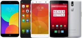 Top 5 : Les meilleurs smartphones chinois – janvier 2018
