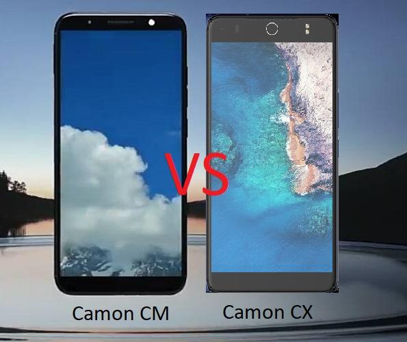 Tecno Camon CM vs Camon CX