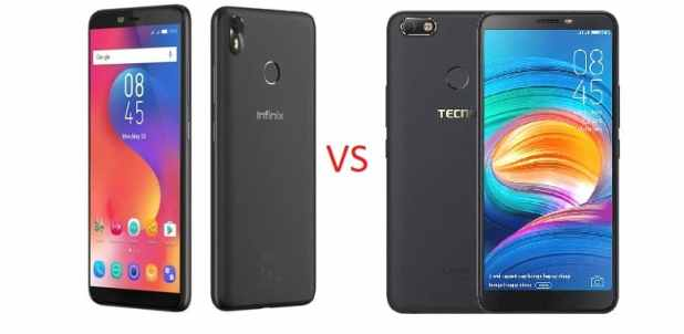 Camon X vs Infinix S3