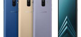 Samsung :LesGalaxyA6 et A6 plus officiellement annoncés