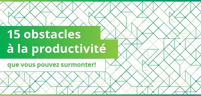 Obstacles à la Productivité