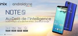 """Infinix dévoile son smartphone """"Au delà de l'intelligence"""" Infinix Note 5 propulsé par Android One"""